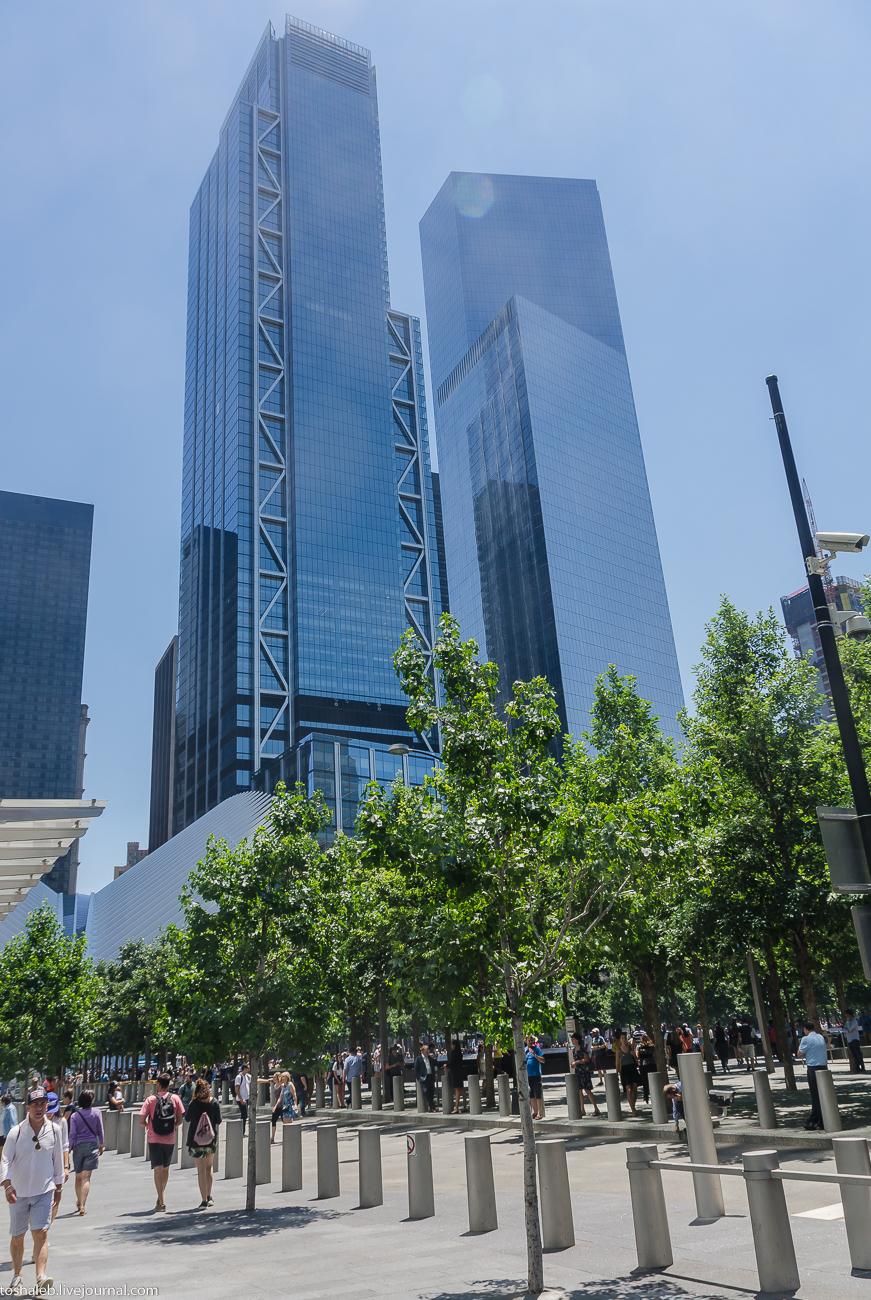 Нью-Йорк_парк 11 сентября-1