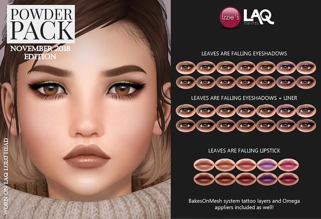 Powder Pack LAQ November 2018 Edition