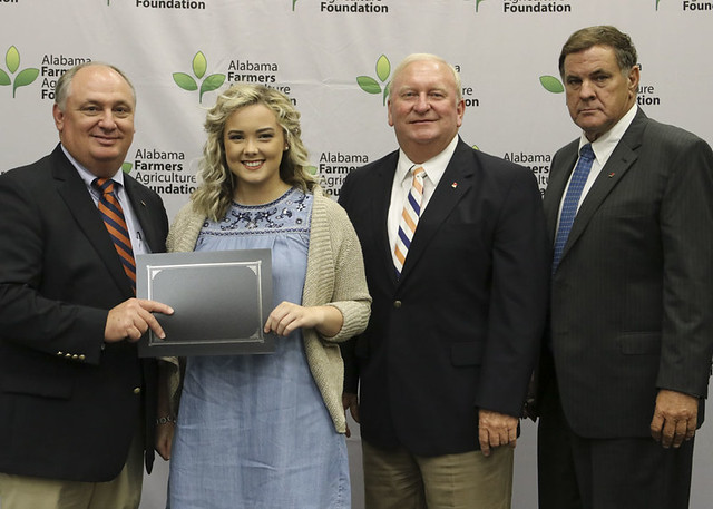 Conecuh County Student Receives Ag Foundation Scholarship