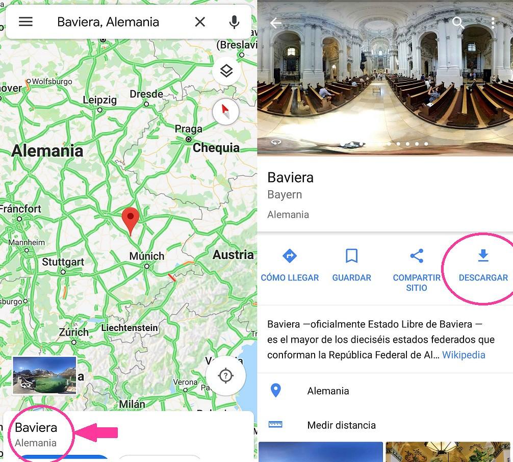Como usar el GPS sin conexión a internet