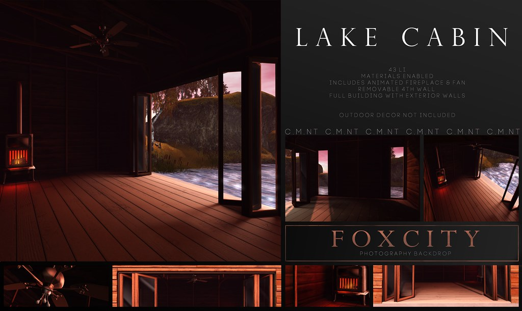 FOXCITY. Photo Booth – Lake Cabin @ Uber