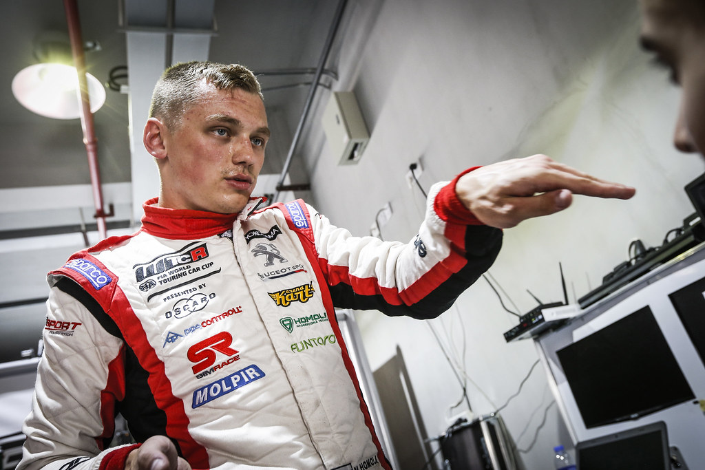 HOMOLA Mato, (svk), Peugeot 308 TCR team DG Sport Competition, portrait during the 2018 FIA WTCR World Touring Car cup of China, at Ningbo  from September 28 to 30 - Photo Jean Michel Le Meur / DPPI