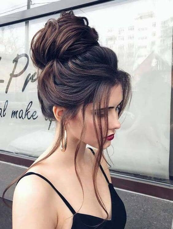 Best Adorable Bun Hairstyles 2019-Inspirations That 15
