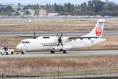 F-WWED / JA06JC ATR 72-600 msn 1524 Japan Air Commuter