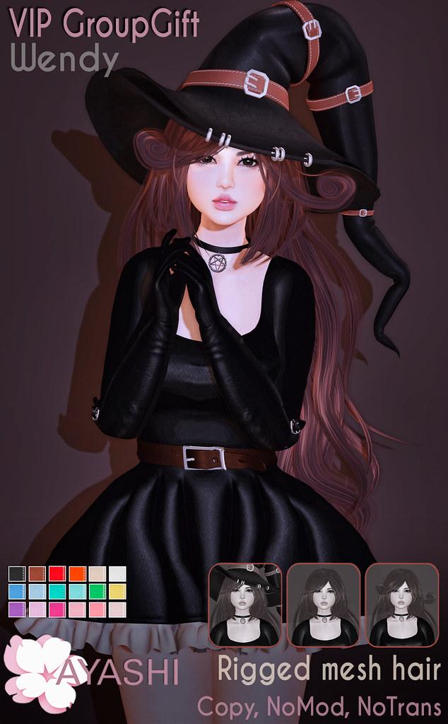 [^.^Ayashi^.^] Wendy hair October VIP GroupGift