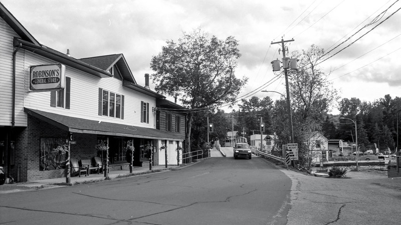 Driving Towards Robson's General Store