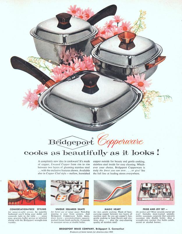 Bridgeport Copperware 1956