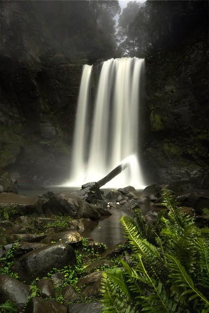 Waterfall hunting in the rain