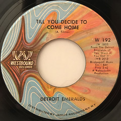 DETROIT EMERALDS:YOU WANT IT, YOU GOT IT(LABEL SIDE-B)
