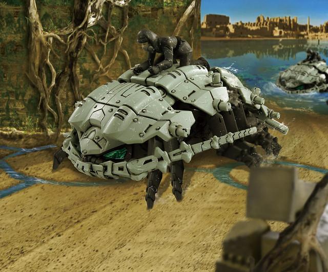 TAKARA TOMY 洛伊德新系列《ZOIDS WILD》ZW13 深海具足蟲(ゾイドワイルド グソック)