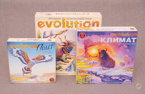 Настольная игра Эволюция: Естественный Отбор - Климат
