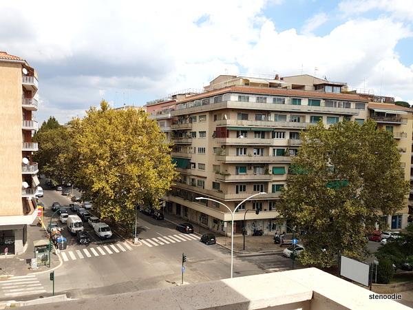 Vaticanum 67 balcony view