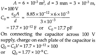 NCERT Solutions for Class 12 Physics Chapter 2 Electrostatic Potential and Capacitance 9
