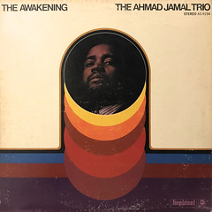 THE AHMAD JAMAL TRIO:THE AWAKENING(JACKET A)