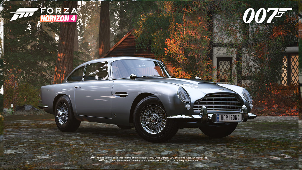 FH4 Best of Bond Aston Martin DB5 Front
