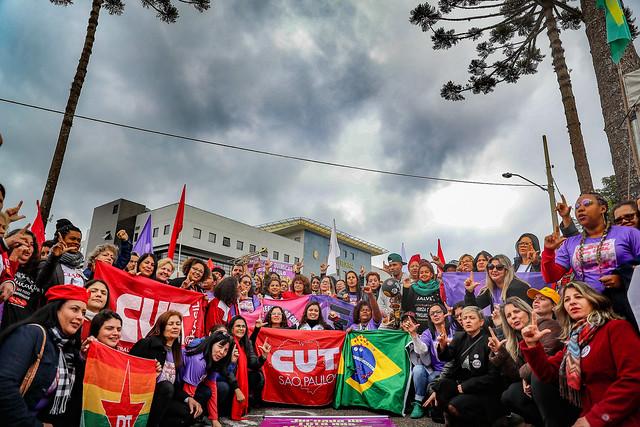 Militância está há mais de 200 dias em frente à Superintendência da Polícia Federal em Curitiba - Créditos: Foto: Ricardo Stuckert