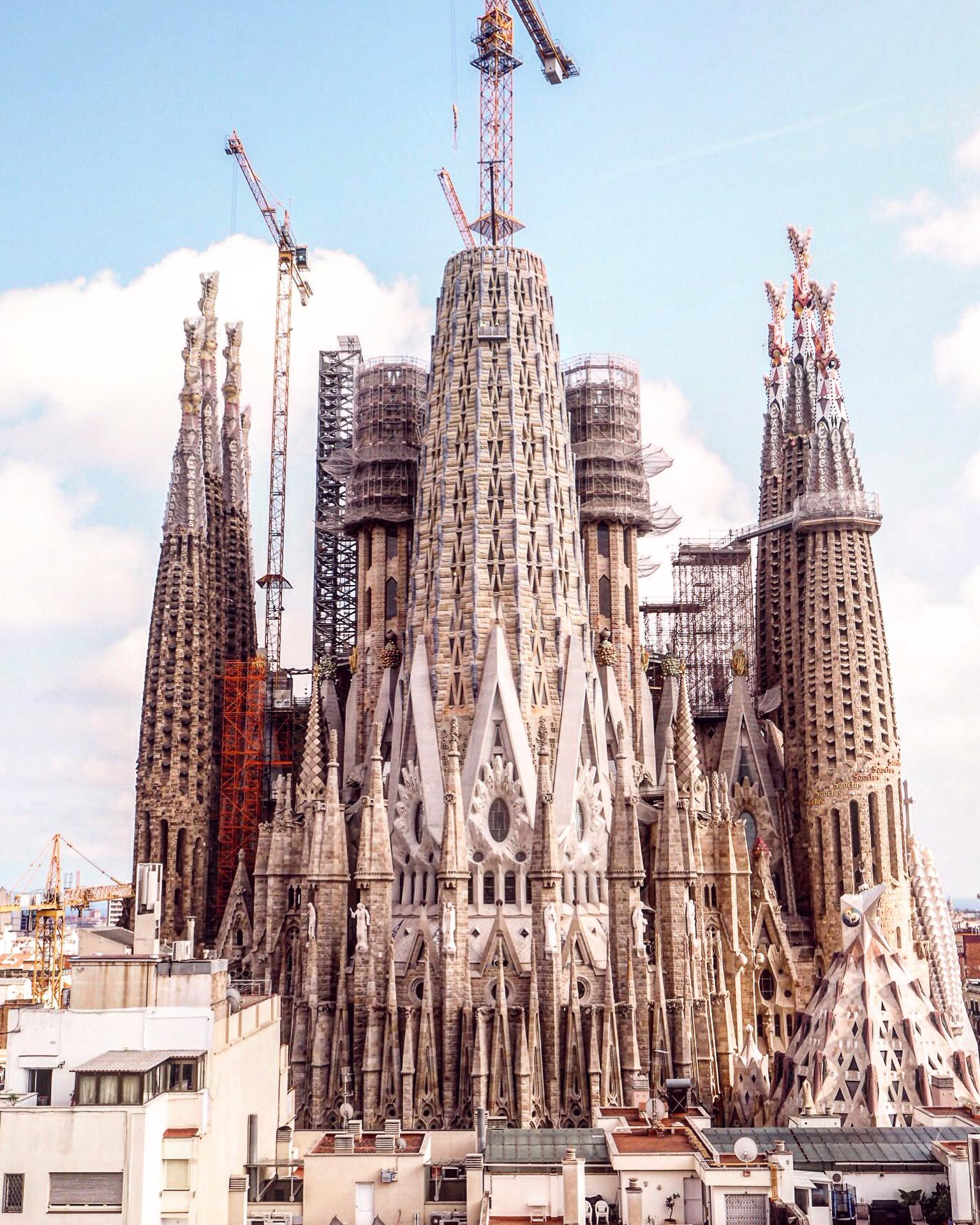 Sagrada Familia sisäänpääsy