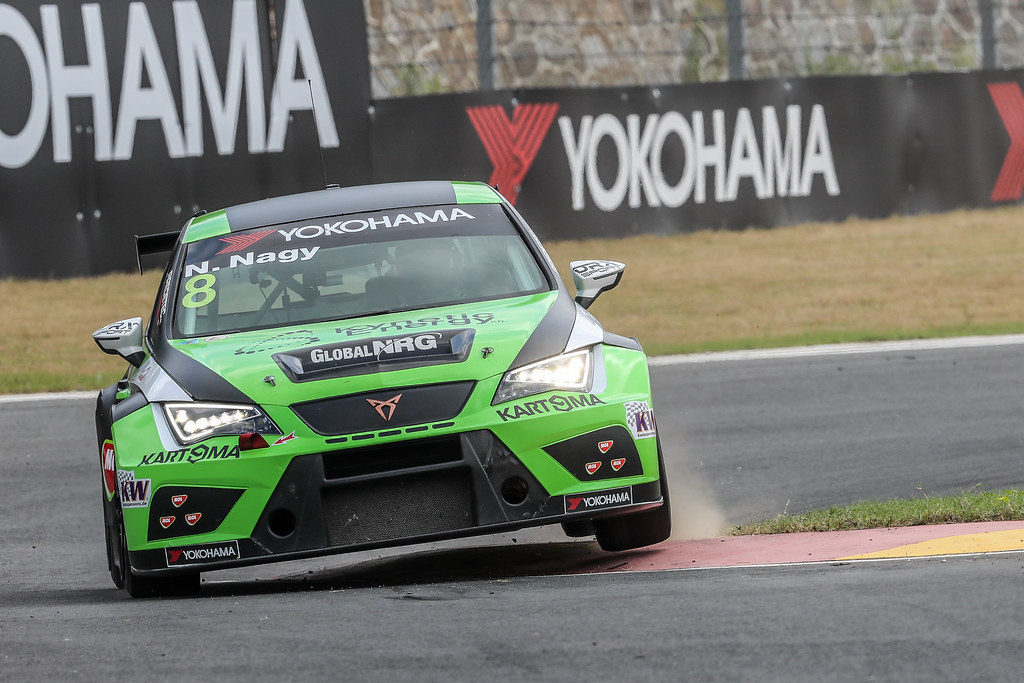 08 NAGY Norbert, (hun), Seat Cupra TCR team Zengo Motorsport, action during the 2018 FIA WTCR World Touring Car cup of China, at Ningbo  from September 28 to 30 - Photo Marc de Mattia / DPPI