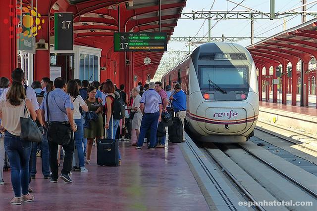 estação de Chamartín, Madrid