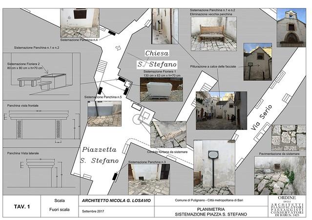 Pianta layout Piazzetta S. Stefano-1