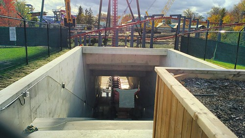 View into Yukon Striker's underwater tunnel