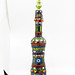 Tall Mosaic Glass Genie Bottle
