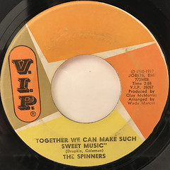 THE SPINNERS:IT'S A SHAME(LABEL SIDE-B)