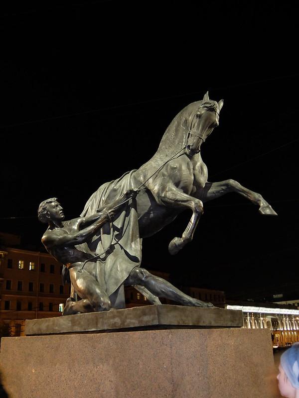 Санкт-Петербург - Скульптура на Аничковом мосту