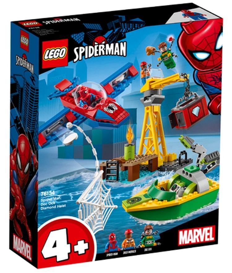 Spider-Man: Doc Ock Diamond Heist (76134)
