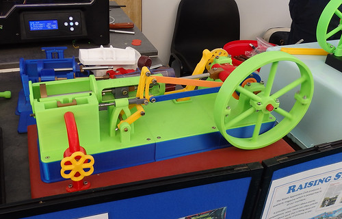 3D printed steam engine