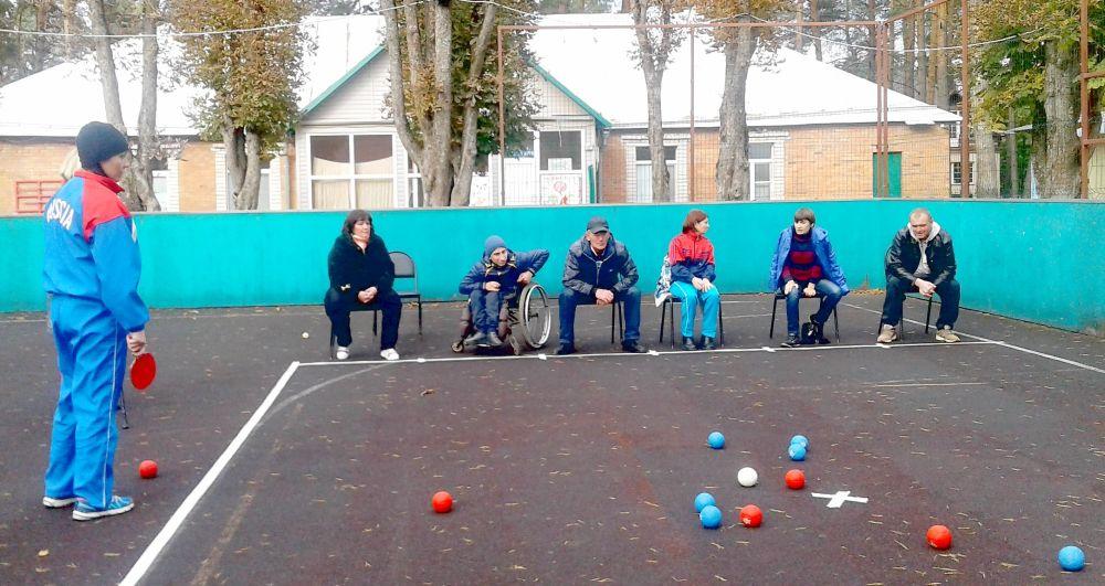 Спартакиада среди инвалидов