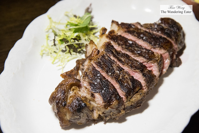 Creekstone New York strip steak