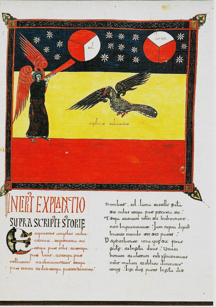 El cuarto ángel. Visión del águila. Ap. VIII, 12-13