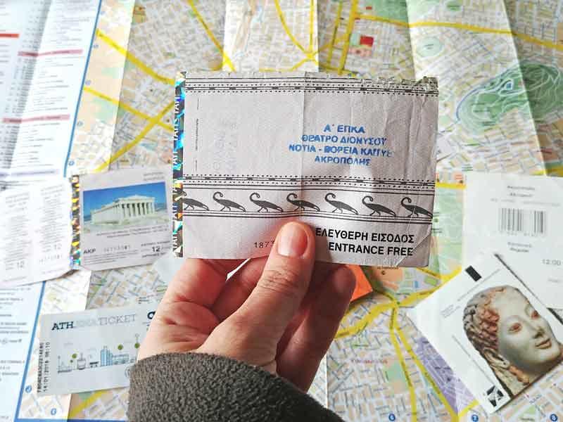 Ticket Combinado para acceder a los recintos arqueológicos de Atenas