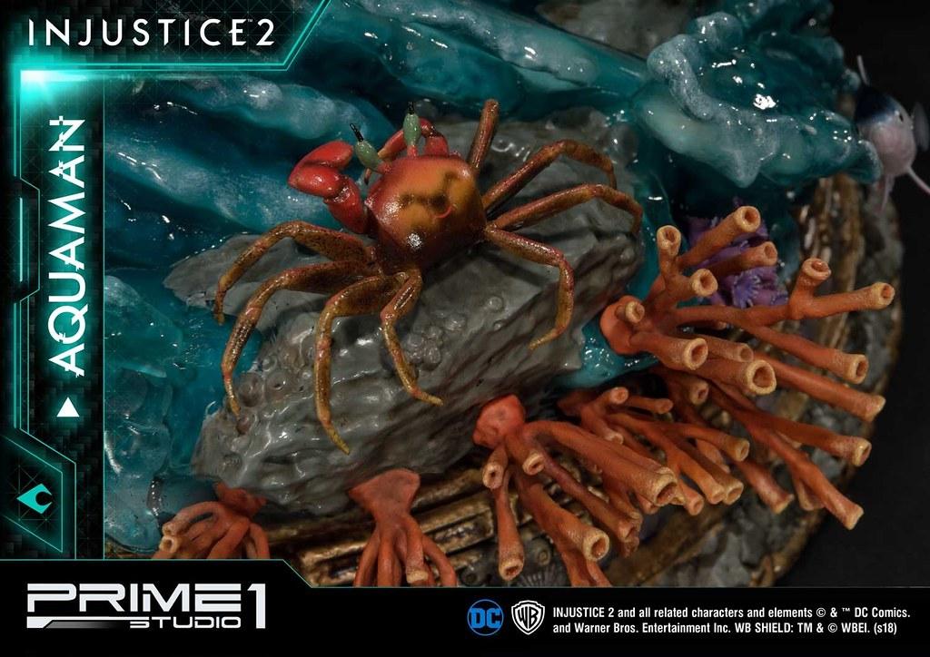 Prime 1 Studio《超級英雄:武力對決2》水行俠 アクアマン PMDCIJ-01 1/4 比例全身雕像作品 普通版/EX版