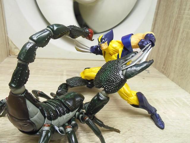 海洋堂全新可動系列 ARTHROPODS 第一彈『帝王蠍』(アースロポッズ  ダイオウサソリ)