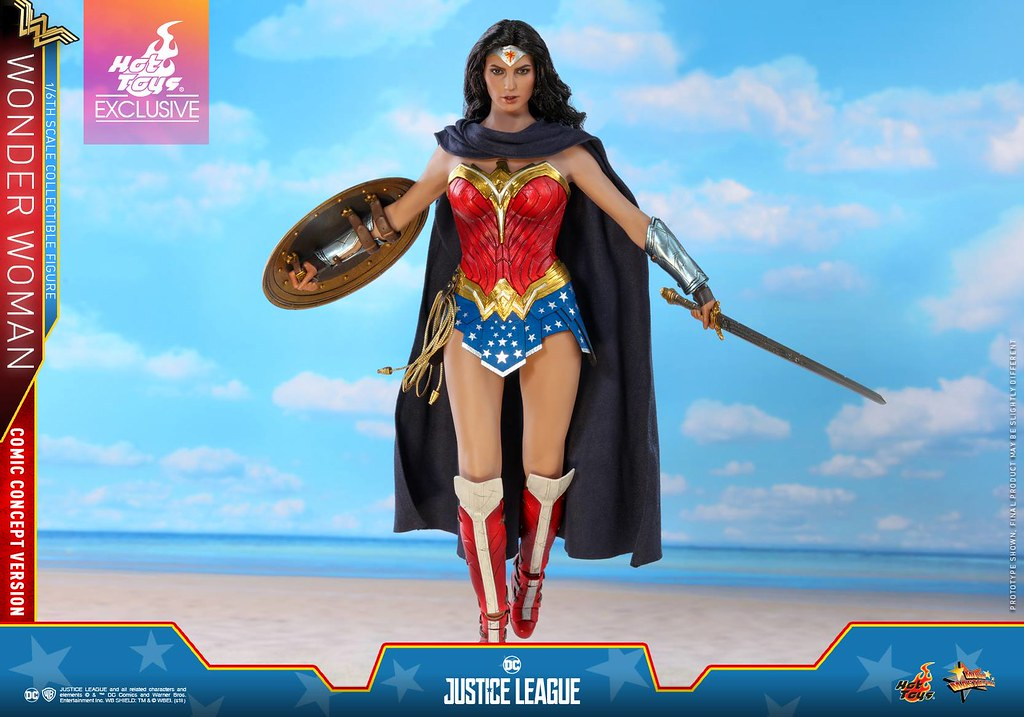 Hot Toys - MMS506 -《正義聯盟》神力女超人 (漫畫概念版)  Wonder Woman (Comic Concept Version) 1/6 比例可動人偶作品
