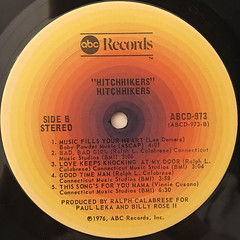 HITCHHIKERS:HITCHHIKERS(LABEL SIDE-B)