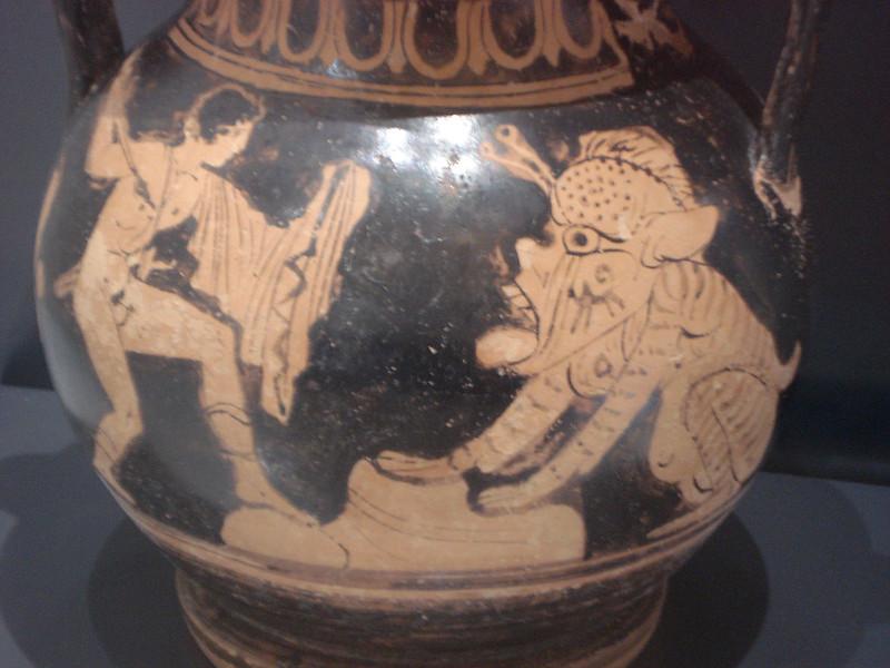 046-Персей убивает морское чудовище