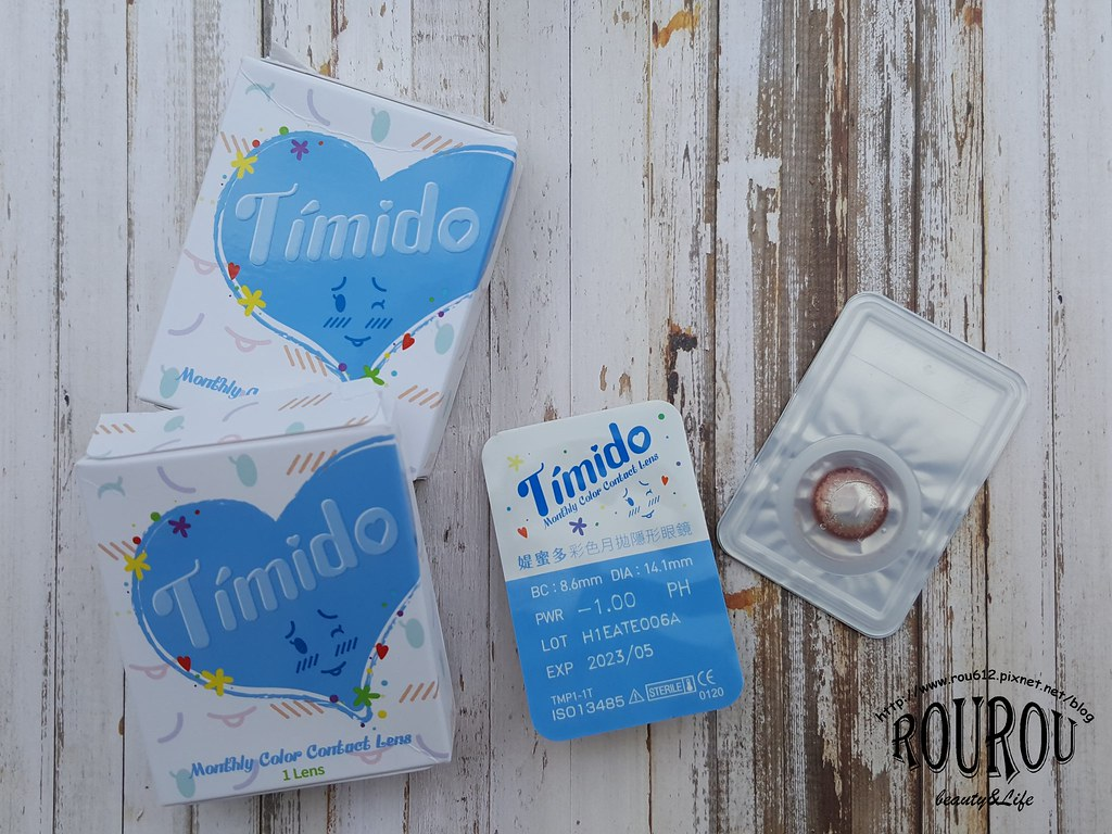 Timido媞蜜多彩色隱形眼鏡12