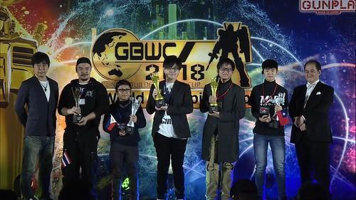GBWC 2018 - Finalist Winner