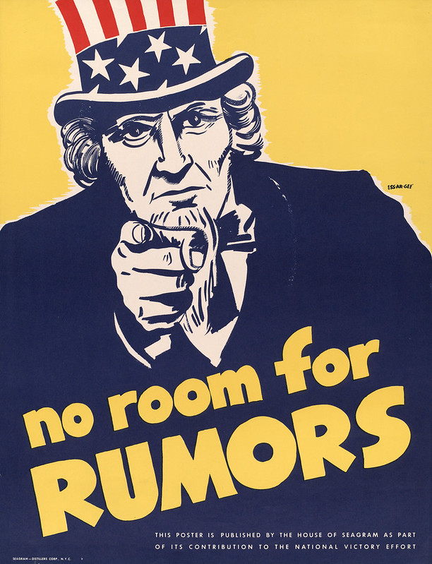 No room for – rumors – by Essargee