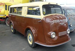 Tempo Matador 1000 Kombi bicolor 1953 vr