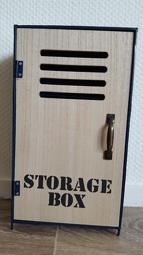 [Vends] Casier en bois et métal (taille Yo-SD/MSD) - 8 €. 30553481957_78e933034e