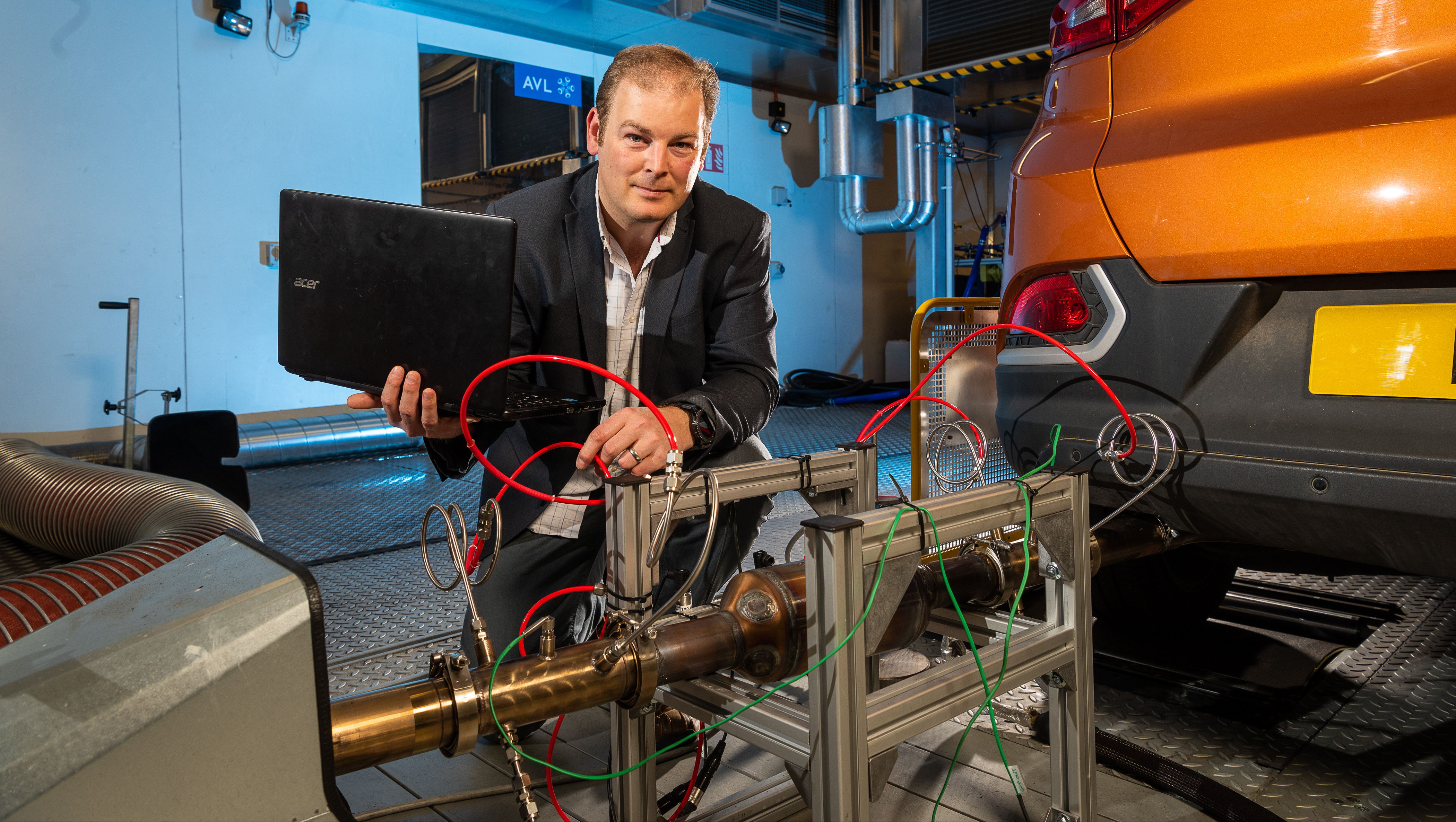 Dr Chris Bannister will lead the 'GPF Burn rate and Low Temperature Reactivity' project which will aim to identify the most efficient conditions for the optimum performance of gasoline particulate filters.