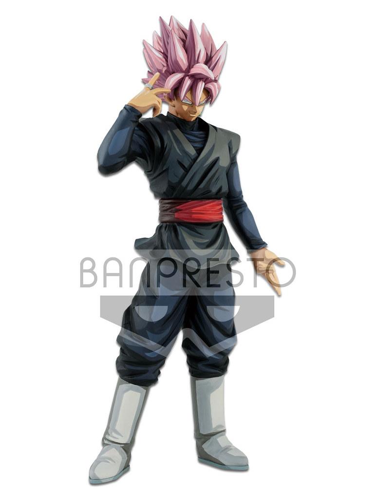 Banpresto《七龍珠超》Grandista 黑悟空 (超級賽亞人玫瑰) ゴクウブラック (超サイヤ人ロゼ) —Manga Dimensions—(海外限定版)