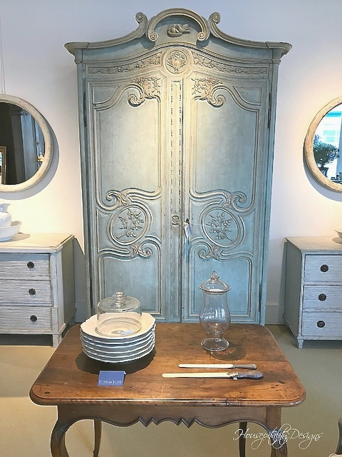 French Antique Armoire-Housepitality Designs
