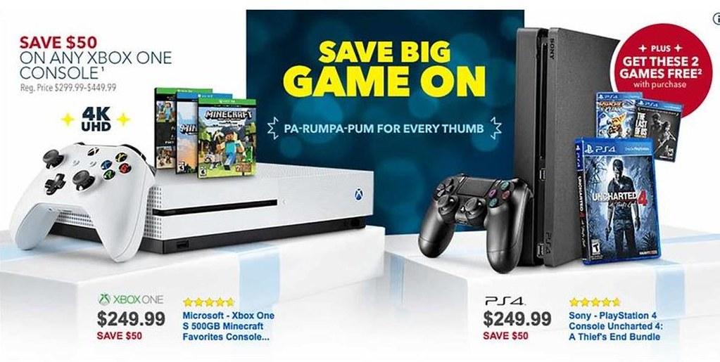 Gaming consoles deals
