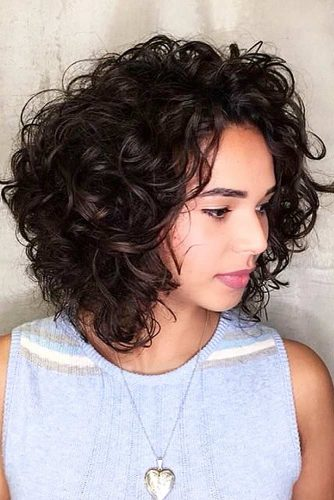 2019 Shapely Curly Bob Haircuts-Try This Season 8