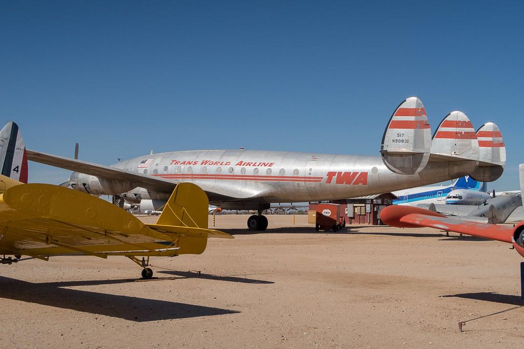 Vintage TWA Plane
